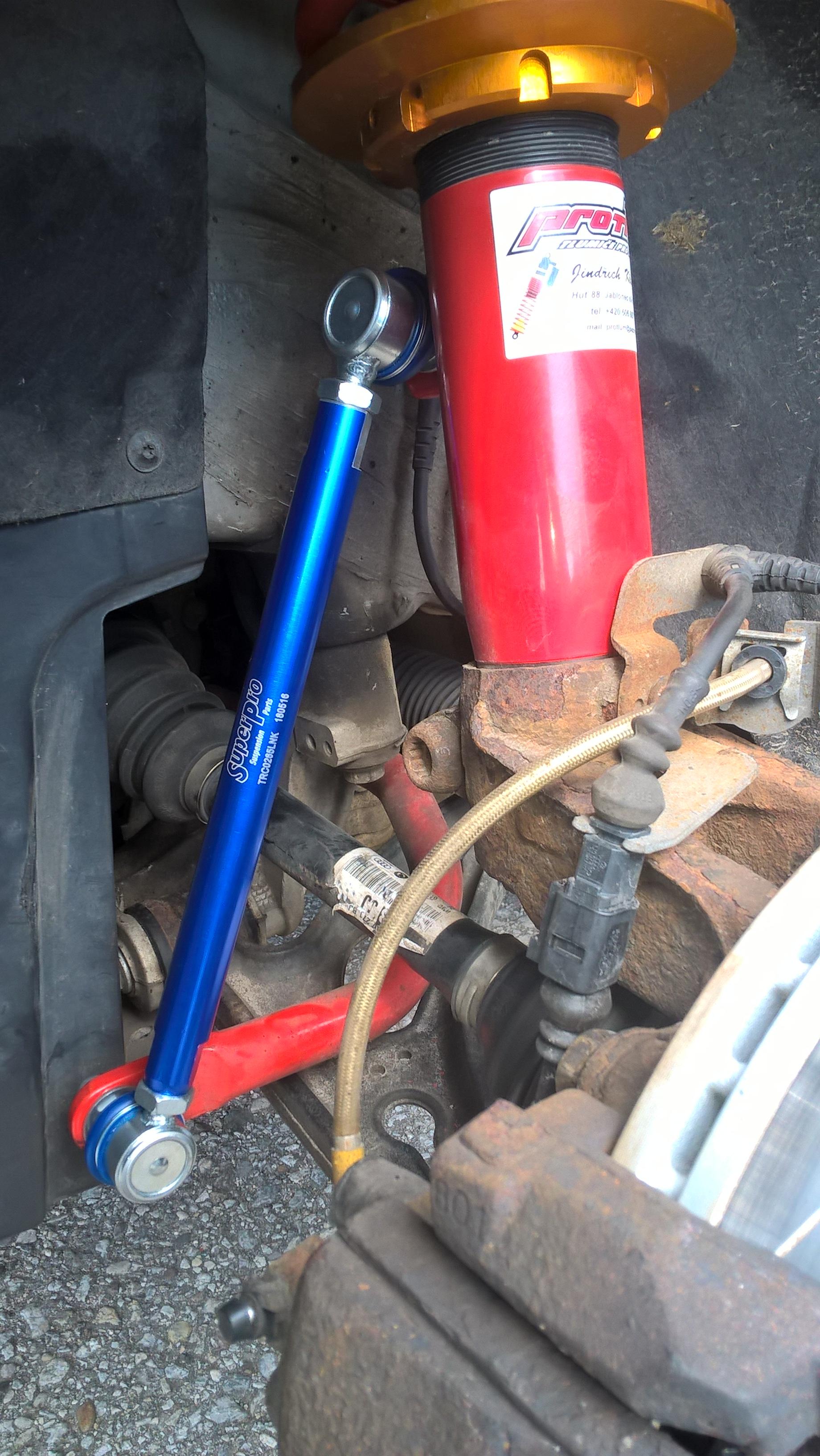 Protlum – Rally suspension upgrade